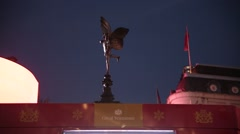 Amour on Piccadilly Circus, London, England Stock Footage