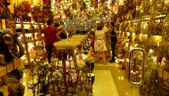Gift shop - stock footage