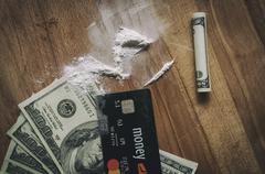 Dollars and cocaine Kuvituskuvat