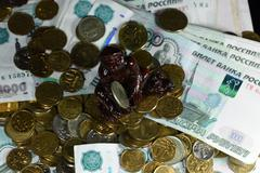 Money background financial concept coins Kuvituskuvat