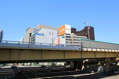 shin osaka - stock photo
