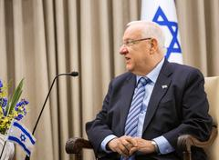 Israeli President Reuven Rivlin - stock photo