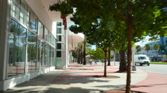 Shops at Alton and 5th Street Stock Footage