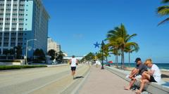 Beautiful Fort Lauderdale Florida Stock Footage