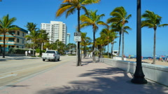 Fort Lauderdale in the sun Stock Footage