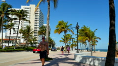 Fort Lauderdale vacation destination Stock Footage