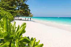 Beautiful  beach at Ta chai Island, Phang Nga Thailand - stock photo