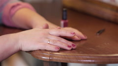 cosmetics female hands - stock footage