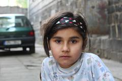 Ghetto in Prerov, Gypsy child girl Kuvituskuvat