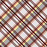 Diagonal seamless pattern in warm colors - stock illustration