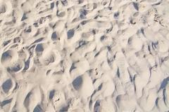 Miniature sand dunes - stock photo