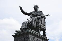 Monument of King Max Josef in Munich - stock photo