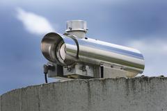 Stock Photo of Viedeo Surveillance Camera