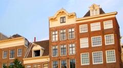Elegant classic building opener Stock Footage