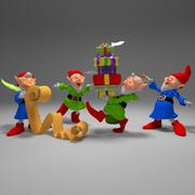3d model of gnome collection