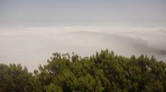 Mountains on Madeira Stock Footage