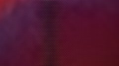 Pixels of the liquid crystal monitor, closeup, for  abstract background Stock Footage