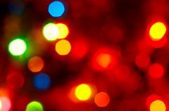 Christmas fairy-tale background. - stock photo