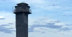 Sullivan's Island Lighthouse December 2015 Stock Footage