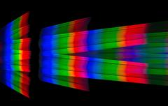 Background based on a diffraction spectral decomposition of white light Kuvituskuvat