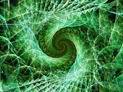 Spiral Elegance - stock illustration
