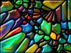 Stock Illustration of Visualization of Fairy Glass