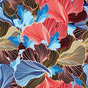 Wonderful abstract pattern Stock Illustration
