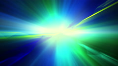 Blue green shiny light loopable background 4k (4096x2304) Stock Footage