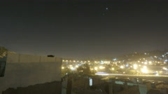 Sunrise time-lapse over Amman, Jordan Stock Footage