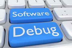 Software Debug concept Piirros