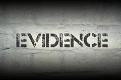 Evidence Stock Illustration