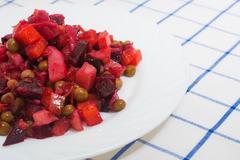 vinaigrette salad - stock photo