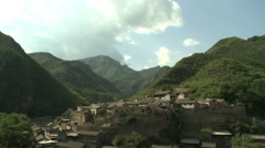Cuandixia, Chinese mountain village, China Stock Footage