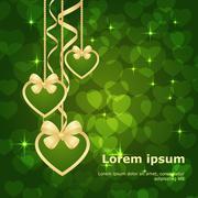 Stock Illustration of valentine bokeh background