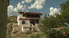 Wudangzhao Monastery, Inner Mongolia, China Stock Footage