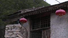 Ming Dynasty Ancient Village, China Stock Footage