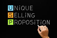 Stock Photo of Unique Selling Proposition