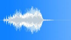 Cartoon creaky hop shout - sound effect