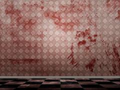 Bloody grunge room Piirros