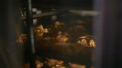 Bun in the oven Stock Footage