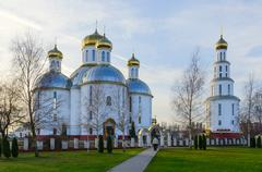 The Holy Resurrection Cathedral in Brest, Belarus - stock photo