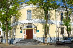 The building of the Vitebsk Orthodox Theological Seminary, Vitebsk, Belarus Stock Photos