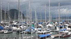 Royal Langkawi Yacht Club Stock Footage