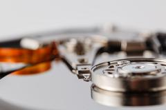 Spindle and plate open HDD Stock Photos