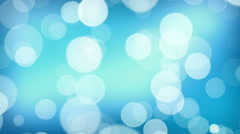 Bokeh particles loop Stock Footage