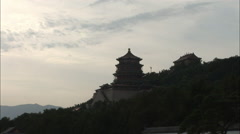 Summer Palace, Temple of Buddhist Incense Stock Footage