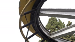 mechanism cable funicular - stock footage