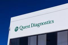 Quest Diagnostics Exterior and Logo - stock photo