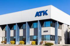 ATK Services Exterior and Logo Stock Photos