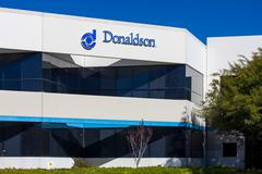 Stock Photo of Donaldson Company Exterior and Logo